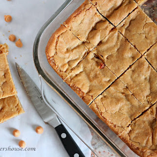 Butterscotch Blondies.