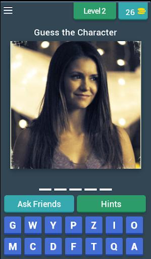 Vampire Diaries Quiz (Fan Made) 3.14.8z screenshots 3