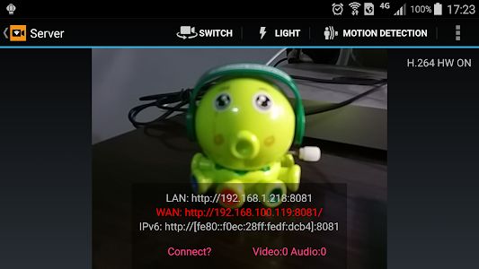 IP Camera screenshot 2