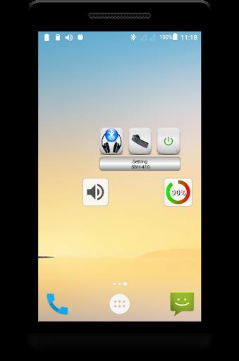 Bluetooth Music  Widget Battery FREE 2.2 screenshots 1