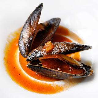 Mussels Marinara.