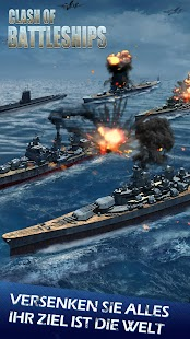 Clash of Battleships - Deutsch- screenshot thumbnail
