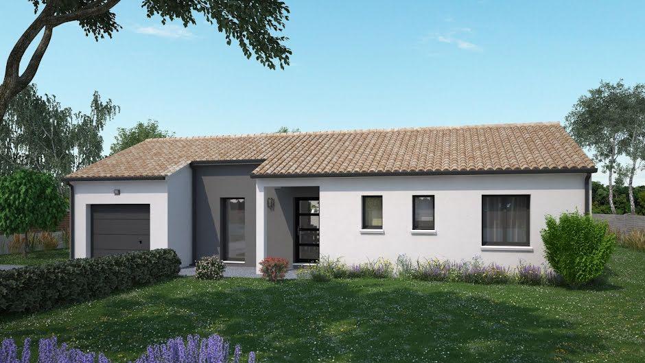 Vente maison 4 pièces 87 m² à Braslou (37120), 161 543 €