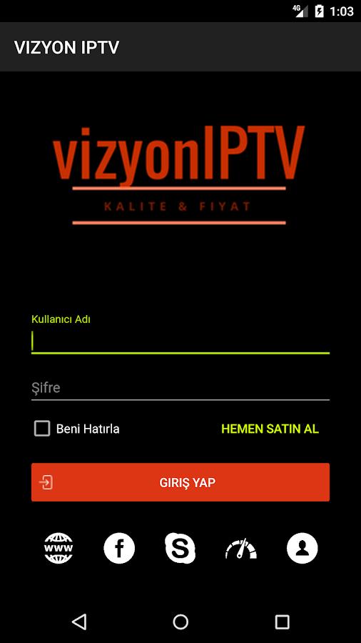 VIZYON IPTV PLAYER- ekran görüntüsü