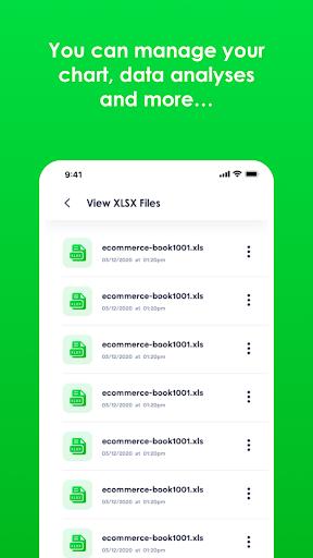 Xlsx File Reader with Xls Viewer 2.0.8 screenshots 2