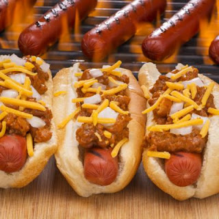 Portillo's Crockpot Chili Cheese Dogs