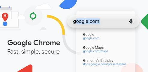 دانلود برنامه Google Chrome: Fast & Secure