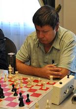 Photo: Len Molden (Board #8 of PoCo Chess Club)