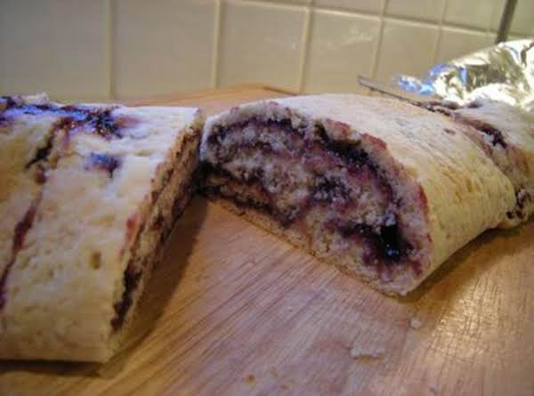 Cranberry Roly-poly