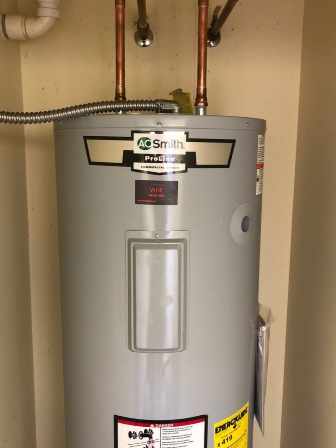 Plumber - Water Heating Experts WHE image