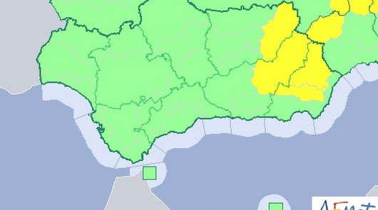Alerta amarilla por lluvias y tormentas en media provincia