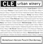 Hometown Heroes Peach Chardonnay