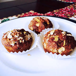 Whole-wheat Pumpkin Chocolate Chip Marshmallow Muffins.