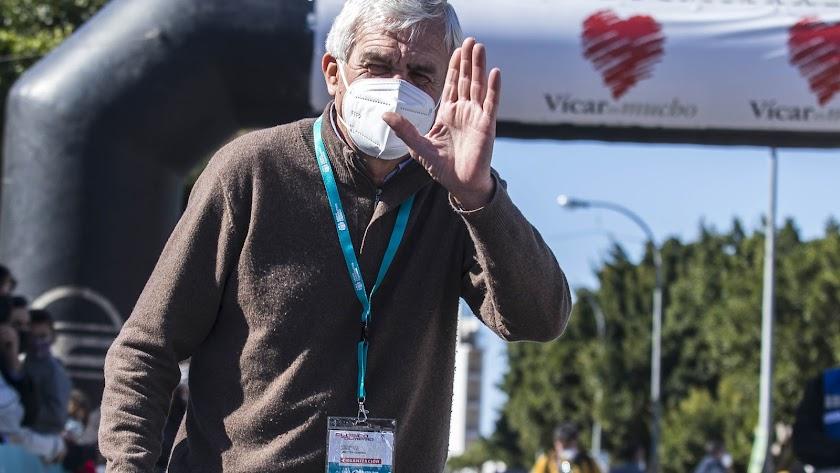 El 'padre' de la Clásica Ciclista de Almería, José Manuel Muñoz.
