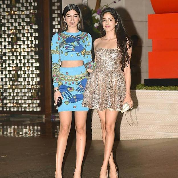 Janhvi Kapoor with Sister, Khushi Kapoor sister of Janhvi Kapoor