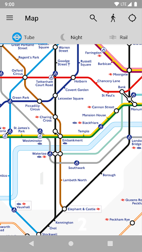 Tube Map - TfL London Underground route planner 5.9.5 Screenshots 6