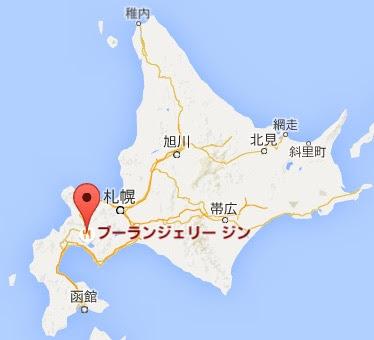 地図:ブーランジェリージン