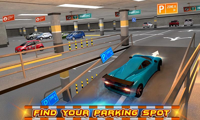 #1. Multi-storey Car Parking 3D (Android)