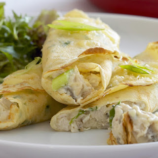 Creamy Chicken Crepes
