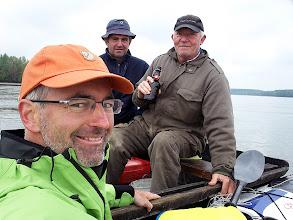 Photo: A horvát horgászok megállítanak és megitatnak pálinkával :)