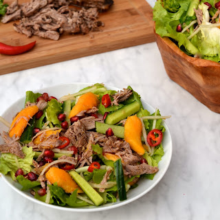 Shredded Duck & Mango Salad Recipe