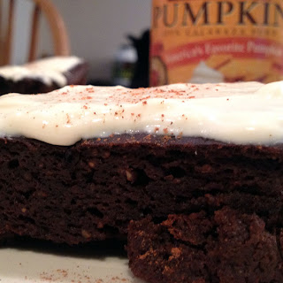 PROTEIN Pumpkin Brownies Recipe! (Low calorie + High Protein/Fiber).