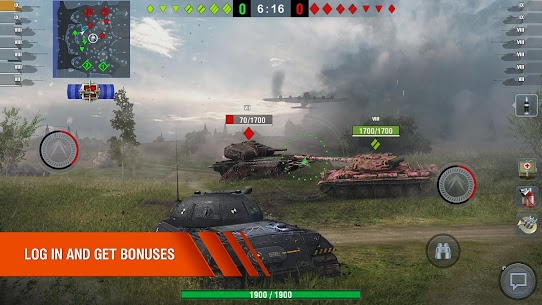 World of Tanks Blitz MMO MOD Apk 6.10.0.573 (Unlimited Gold) 2