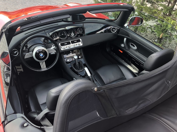 The Z8's interior is an example of fantastic design and engineering.