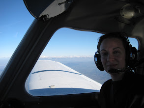 Photo: And the useless co-pilot Map Lady, LOL