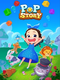 Pop Story Alice in fairy tales Mod Apk 1.0.26 (Unlimited Lives) 1