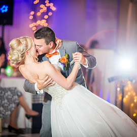 First Dance by Robert Blair - Wedding Bride & Groom ( bride, groom, belleville, weddings, photographer )