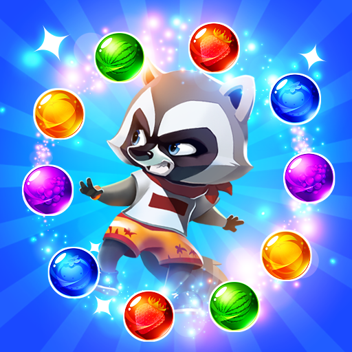 Raccoon Rescue Bubble Shooter (game)