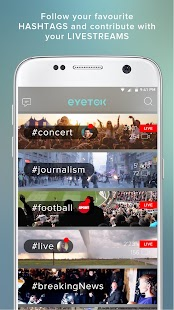 Eyetok, video live streaming- screenshot thumbnail