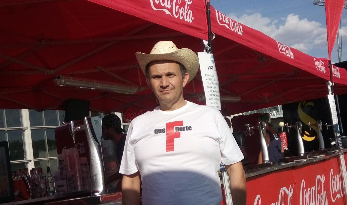 Paco G Festival Gigante 2016 coca-cola