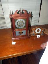 Photo: Jim Moorehead antique clock won first place