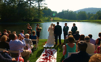 Photo: Highlands Country Club Wedding - Highlands, NC  ~ Wedding Officiant, Marriage Minister, Notary, Justice Peace - Brenda Owen - http://www.WeddingWoman.net  ~