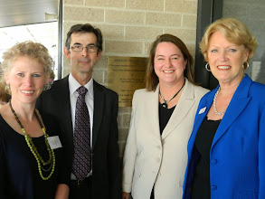 Photo: Sally Turnbull, Ashley Ryan, Mary, Jan Miller - Opening of the Birralee redevelopment