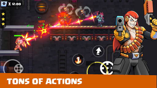 Cyber Dead -  Metal Zombie Shooting Super Squad androidiapk screenshots 1