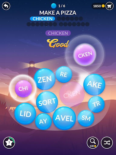 Word Serenity - Calm & Relaxing Brain Puzzle Games screenshots 19
