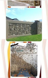 Design Of Stone Fence - náhled
