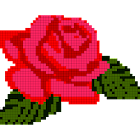 Flowers Color by Number,Pixel Art,Sandbox Coloring icon
