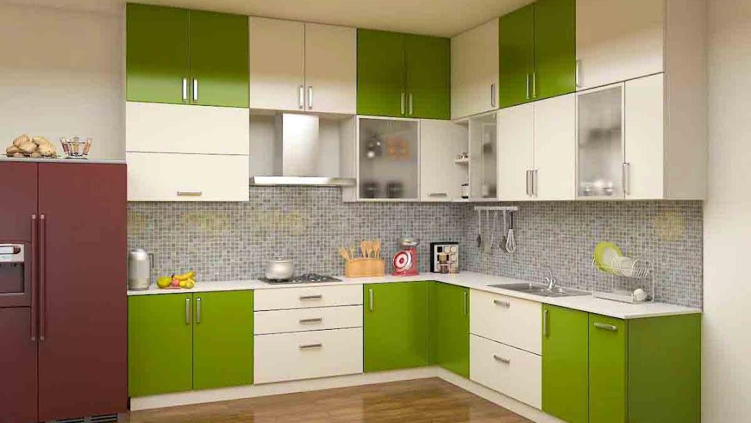 Fab Kit Modular Kitchen Store Modular Kitchen Including Baskets Rs1200 Sqft Modular Wardrobe 1000 Sqft 5 Year Warranty 100 Designs 20 Days Delivery