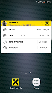 Raiffeisen Smart Mobile- screenshot thumbnail