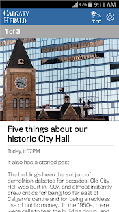 The Calgary Herald- screenshot thumbnail