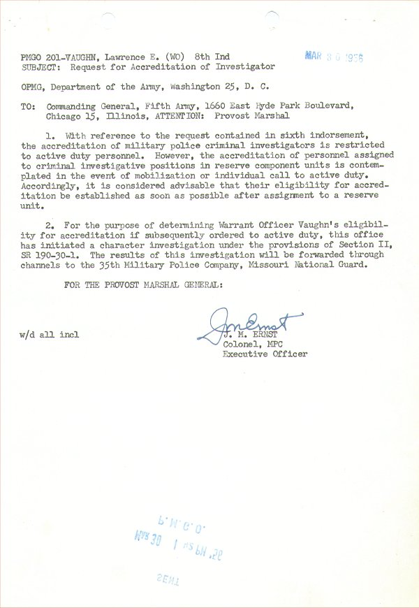 Request for Accreditation Response 30 Mar 1956.jpg
