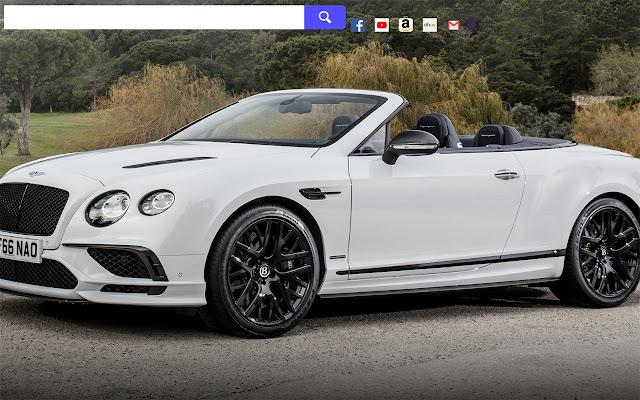 Bentley vs Alfa Romeo HD Wallpapers New Tab