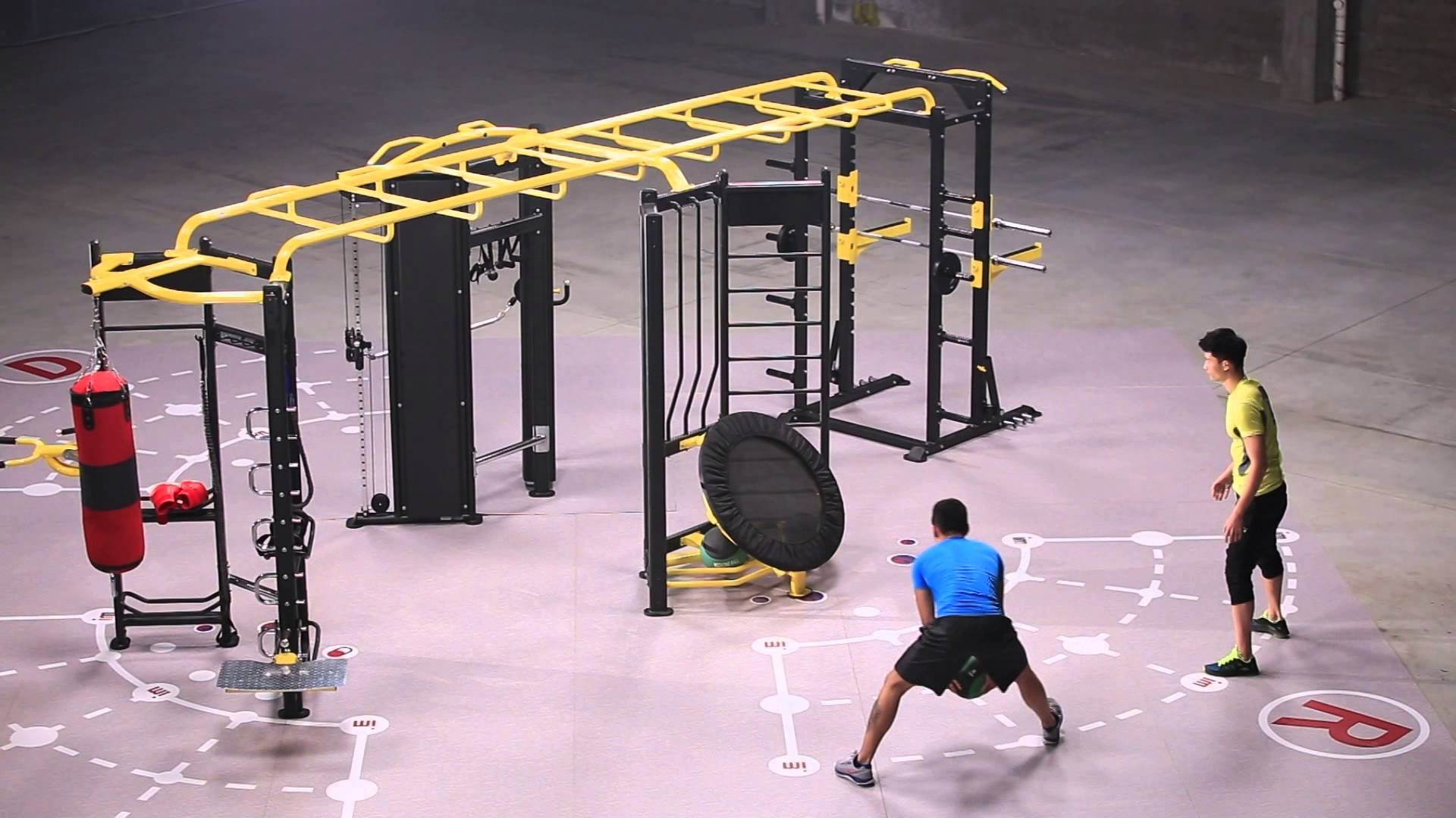 Crossfit cages