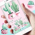 Cute Cartoon Cactus keyboard icon