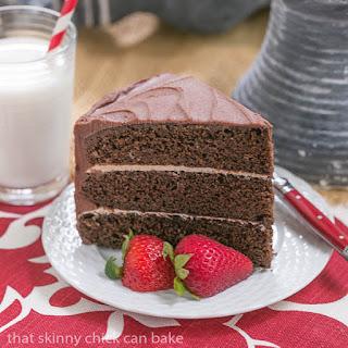 Chocolate Vanilla Layer Cake Recipes.