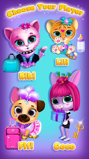 Kiki & Fifi Pet Hotelu2013 My Virtual Animal House 1.0.45 screenshots 3